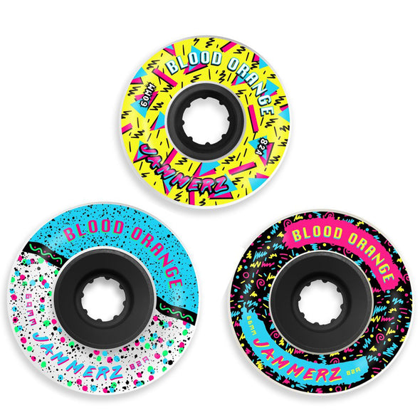 Blood Orange 82a Jammerz longboard wheels