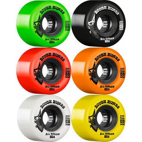 Bones ATF 80a Rough Riders 59mm skateboard wheels