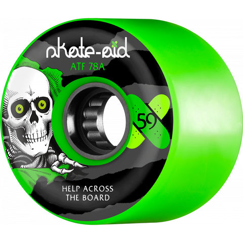 Powell Peralta ATF Skate Aid Collab 59mm skateboard wheels