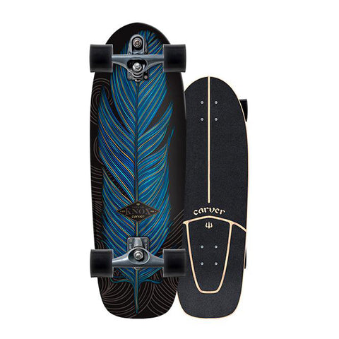 "Carver Knox Quill 31"" surfskate complete"
