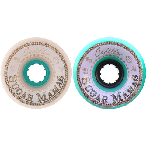 Cadillac Sugar Mamas 65mm longboard wheels