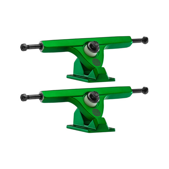 Caliber II Fifty 184mm Satin Green longboard trucks