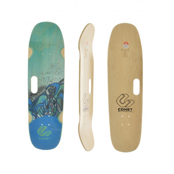 Comet Handle skateboard deck