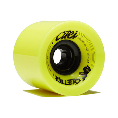 Cuei Killers 74mm 80a Power Thane longboard wheels