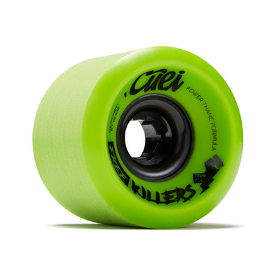Cuei Free Killers 73mm 77a Power Thane longboard wheels