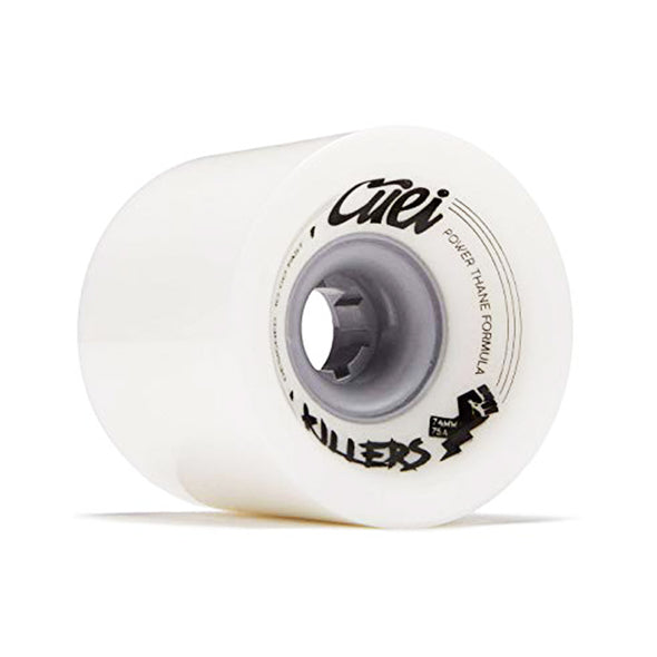 Cuei Killers 74mm 75a Power Thane longboard wheels