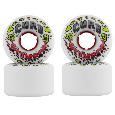 Venom Curb Stompers 61mm longboard wheels