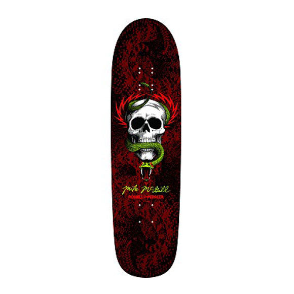 "Powell Peralta Mike McGill Snake Skin 8.97"" skateboard deck"