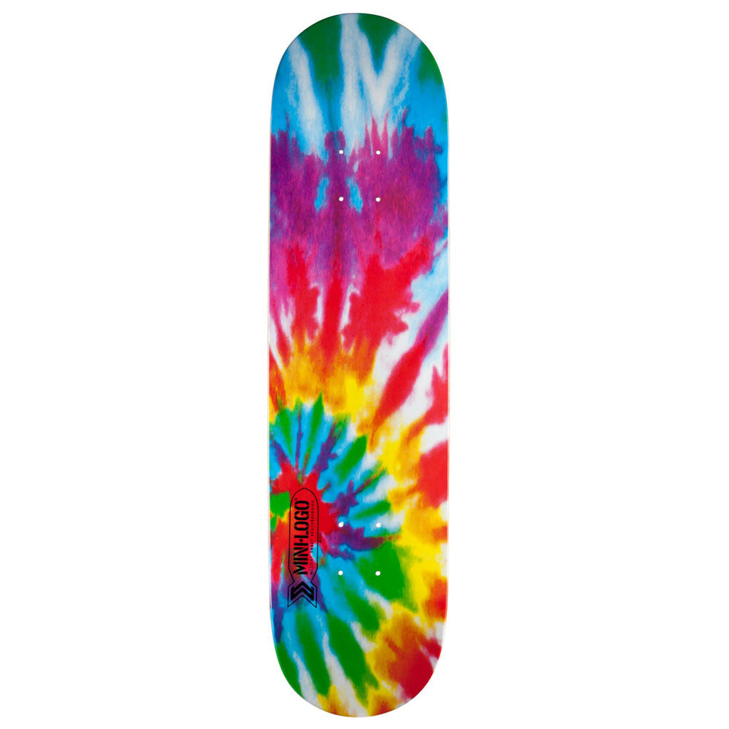 "Mini Logo 8.25""Tie Dye skateboard deck"