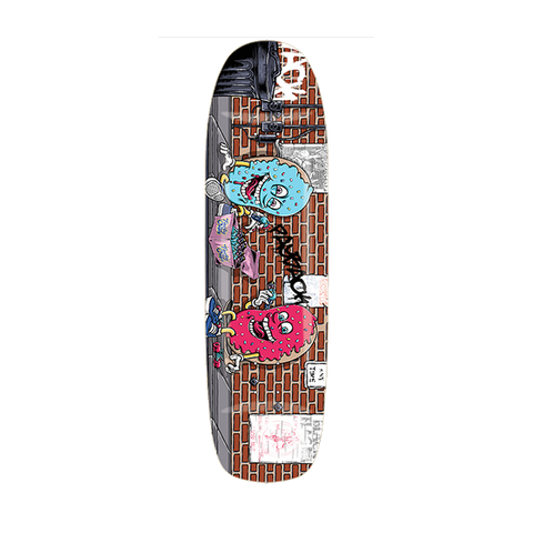 Payback Cops skateboard deck