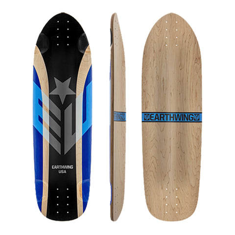 Earthwing Hoopty 34 longboard skateboard deck