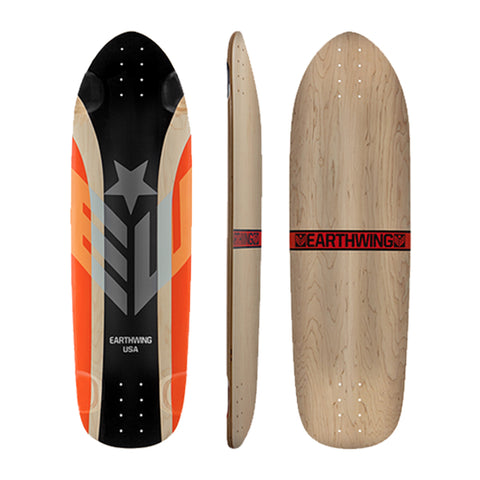 Earthwing Hoopty 36 longboard skateboard deck