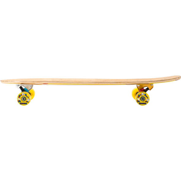 Seismic Groundswell 34 longboard complete