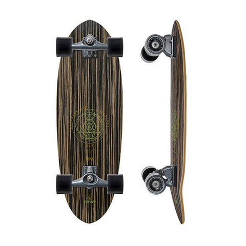 "Carver Haedron No.3 30"" surfskate complete"