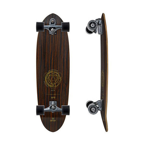 "Carver 2017 Haedron No.9 356""surfskate complete"