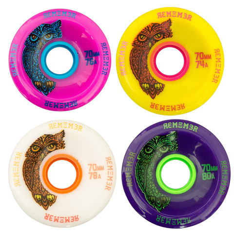 Remember Collective The Hoot 70mm longboard wheels
