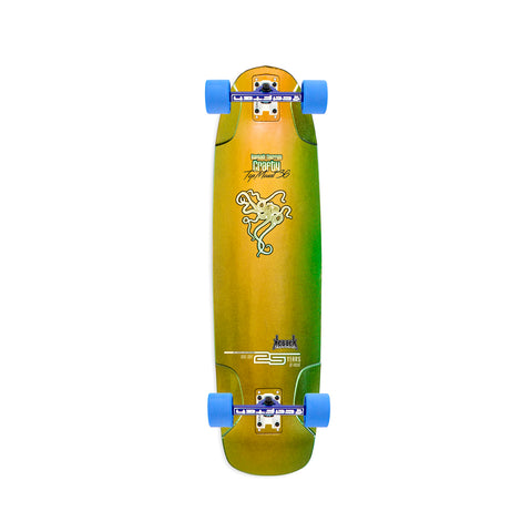"Kebbek Crafty Top Mount 36"" longboard complete"