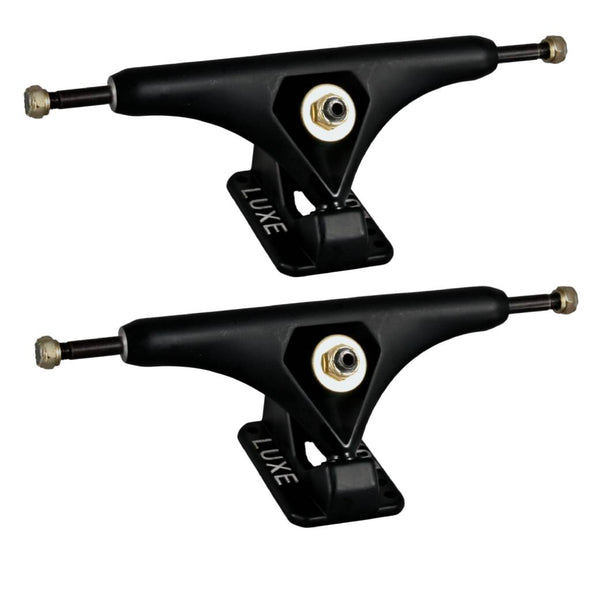 LUXE Lite 180mm Matte Black longboard trucks