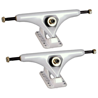 LUXE Lite 180mm Blizzard White longboard trucks