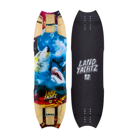 Landyachtz Wolf Shark Hollowtech longboard deck
