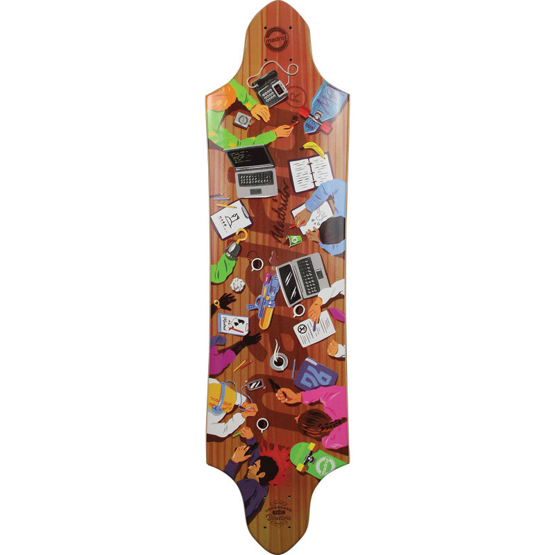 Madrid Board of Directors Halberd longboard deck
