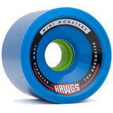 Hawgs Mini Monsters 70mm longboard wheels