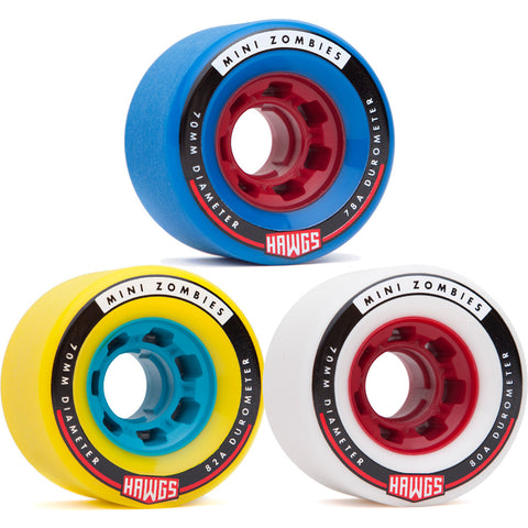 Hawgs Mini Zombies 70mm freeride wheels