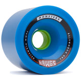Hawgs Monster 76mm longboard wheels