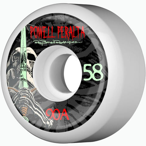 Powell Peralta 90a Rodriguez Skull and Sword 58mm skateboard wheels
