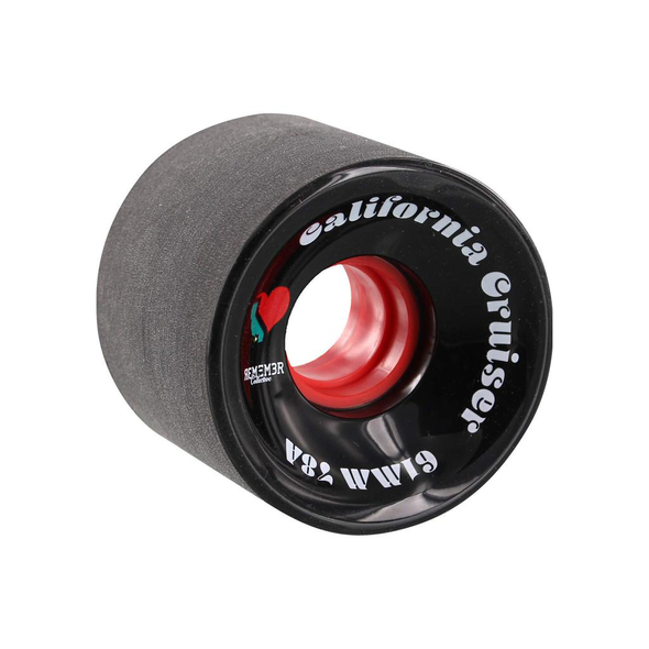 Remember Collective California Cruiser 61mm 78a Black longboard wheels