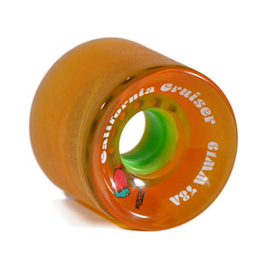 Remember Collective California Cruiser 61mm 78a Orange longboard wheels