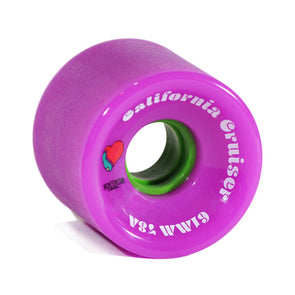 Remember Collective California Cruiser 61mm 78a Pink  longboard wheels