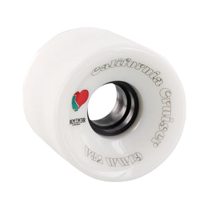 Remember Collective California Cruiser 61mm 78a White longboard wheels