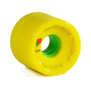 Remember Collective California Cruiser 61mm 78a Yellow longboard wheels