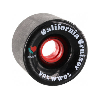 Remember Collective California Cruisers 70mm 78a Black longboard wheel
