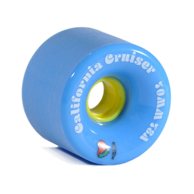 Remember CollectiveCalifornia Cruisers 70mm 78a Blue  longboard wheel