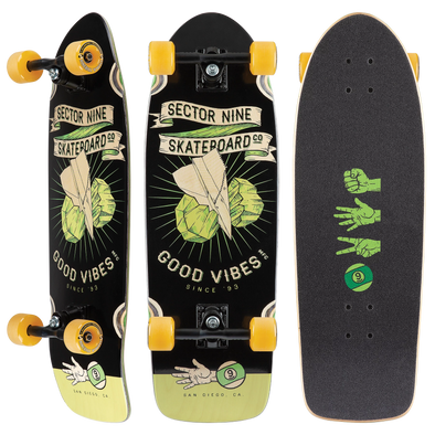 Sector 9 Roshambo Fat Wave skateboard cruiser