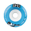RAD Release 72mm 82a longboard wheels