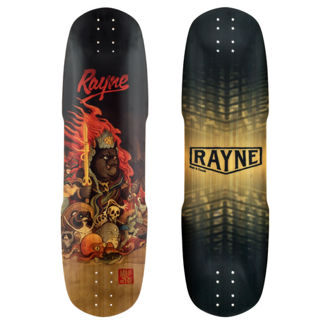 Rayne Exorcist 100 Demons series longboard deck