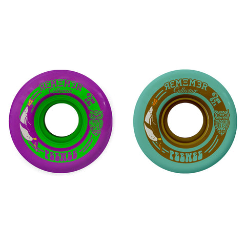 Remember Collective Pee-Wee 62mm longboard wheels