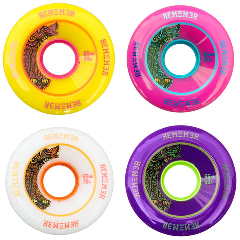 Remember Collective Lil Hoot 65mm longboard wheels