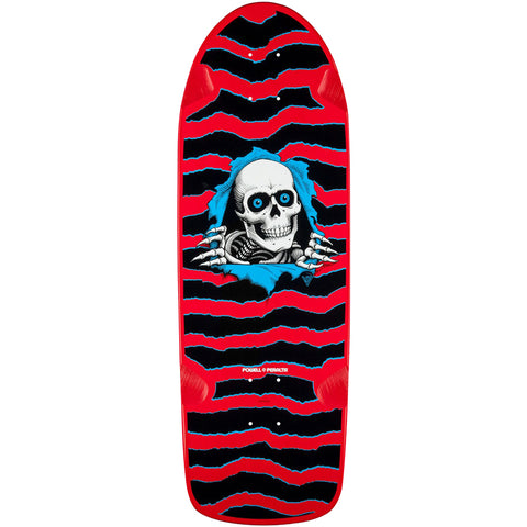 Powell Peralta Old School Ripper Red skateboard deck