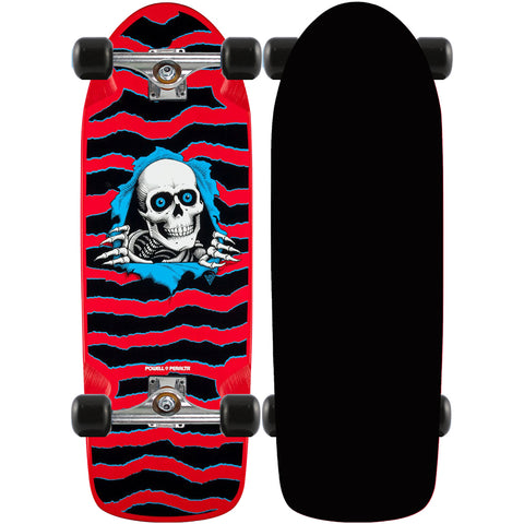 Powell Peralta Old School Ripper Red skateboard complete