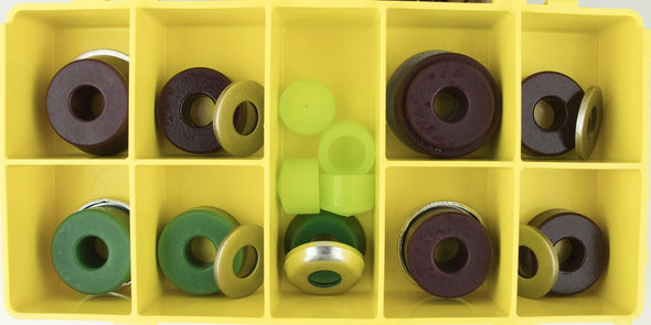 Riptide Evolve Dual Kingpin Board Bushing Box