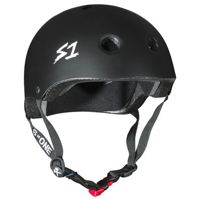 S1 Mini Lifer Helmet in Matt Black