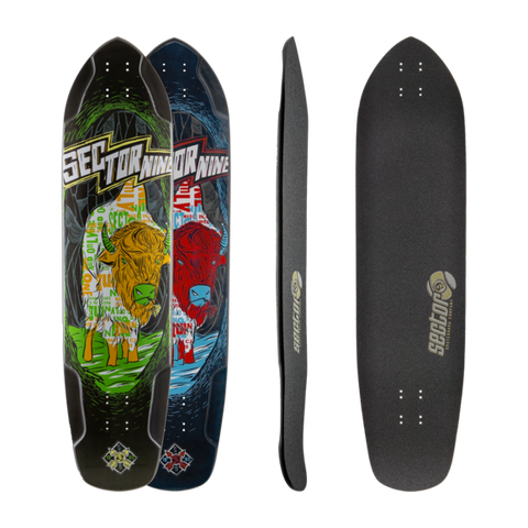 Sector 9 Mini Daisy freeride longboard deck