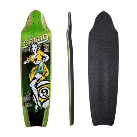 Sector 9 Downhill Divison Tiffany longboard deck