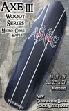 SK8Kings Axe III woody maple series slalom deck - 33.5 x 9