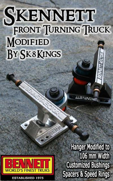 Sk8Kings Skennett - Modified Bennett Truck - 106mm (one truck)