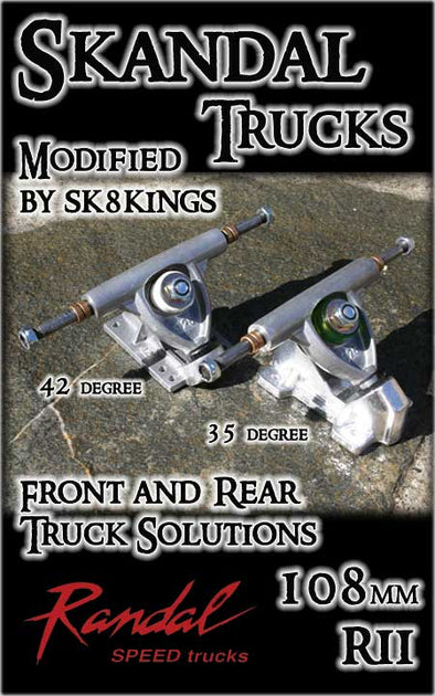 Sk8Kings Skandal - Modified Randal RII Truck - 108mm (one truck)